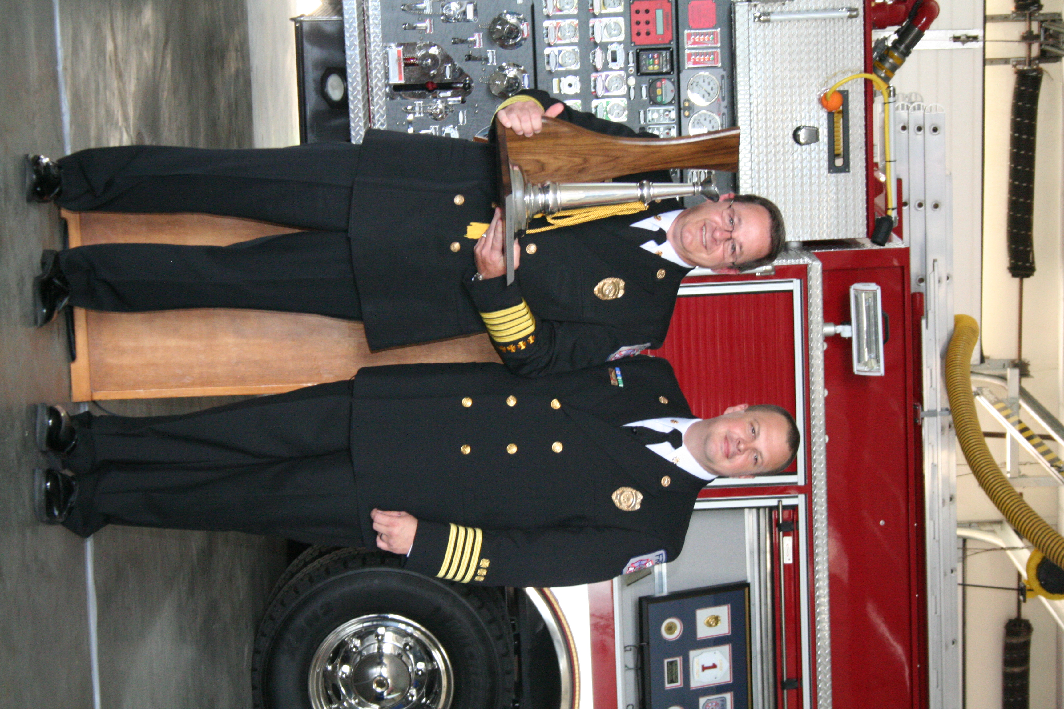 new fire chief hopes to continue tradition of progression